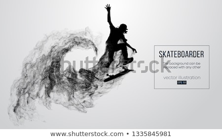 Skateboarder Performing Tricks Stock photo © ArenaCreative
