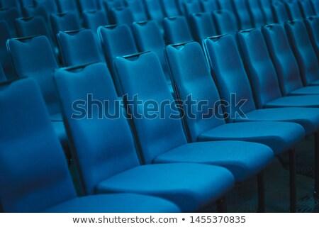 Chaises auditorium affaires conférence écran stade Photo stock © Paha_L