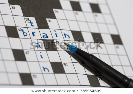 training crossword puzzle stock photo © ivelin