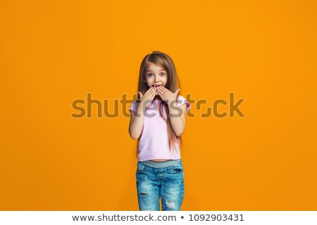 Stock photo: suprised teen