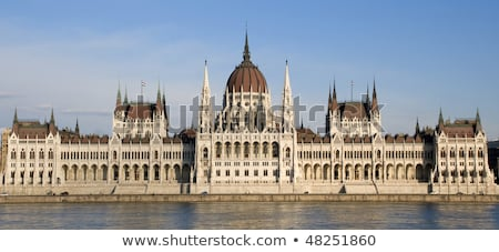 Budapest parlament Magyarország Stock fotó © adamr