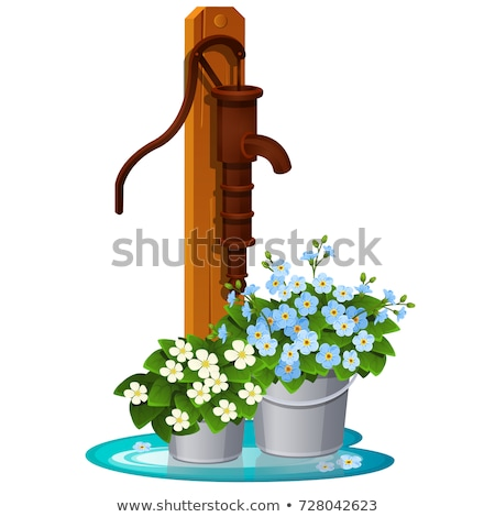 Countryside old water pump Stock photo © artush
