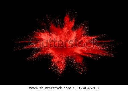 Rouge explosion résumé photos lueur bleu Photo stock © jirisolecito