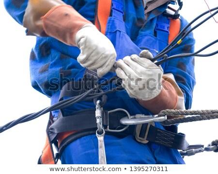 électrique · installation · outils · composants · isolé · blanche - photo stock © photography33