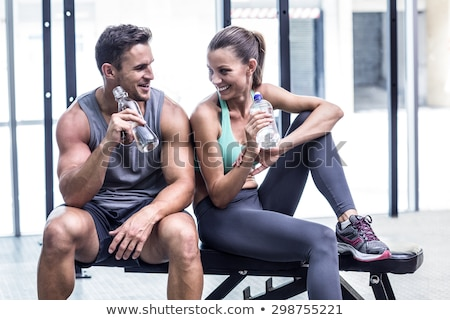 Couple at the gym together Stock photo © photography33