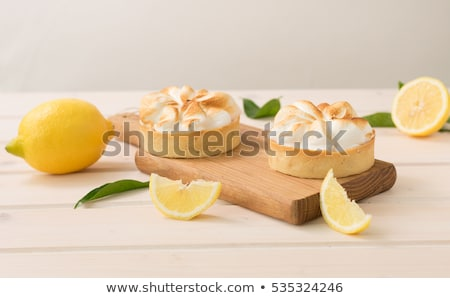 Lemon Meringue Tart Stock photo © gregory21