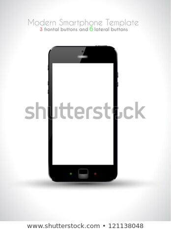 Ultra Realistic modern touch smartphone template Stock photo © DavidArts