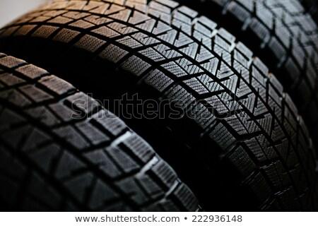 車 · ゴム · タイヤ · 中古 - ストックフォト © Rob300