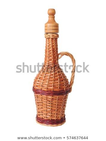 wine jug isolated on white background. Stock photo © shutswis