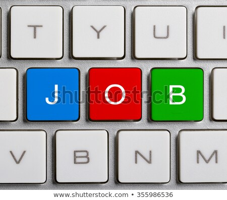Jobs Keyboard Concept stock photo © maxmitzu