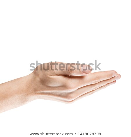 empty male hand asking for help or suggesting help concept stock photo © len44ik