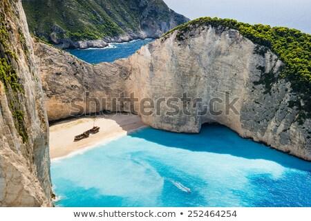 красивой мнение Закинф острове Греция Сток-фото © ElinaManninen