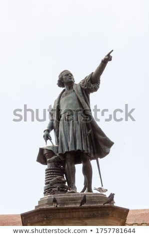Columbus Statue Stock photo © chrisbradshaw