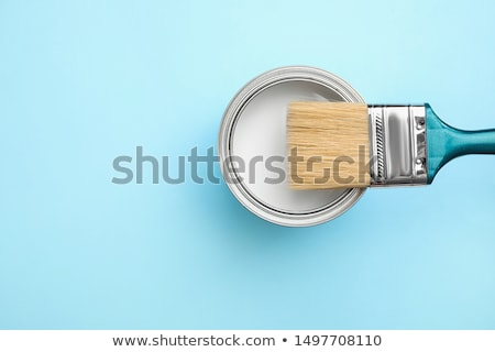 paint brushes and can stock photo © stevanovicigor