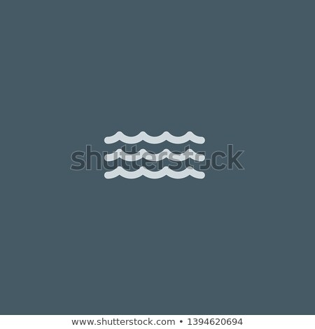 ボート 海 波 アイコン 抽象的な デザイン ストックフォト © mcherevan