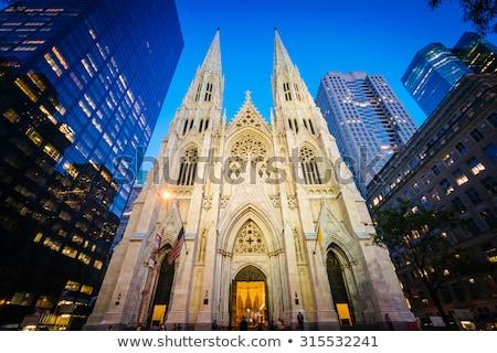Katedral New York örnek görüntü kamu alan Stok fotoğraf © Stocksnapper