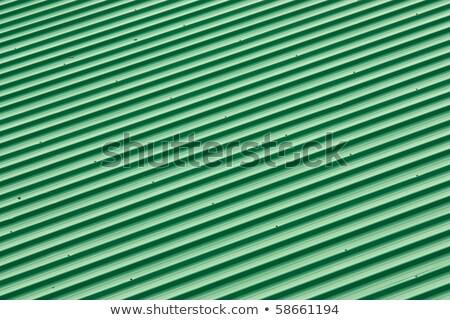 diagonal strip green roof top pattern background stock photo © shutswis