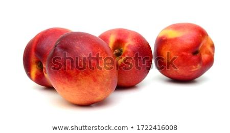 Friss fehér fa deszka édes diéta organikus Stock fotó © raphotos