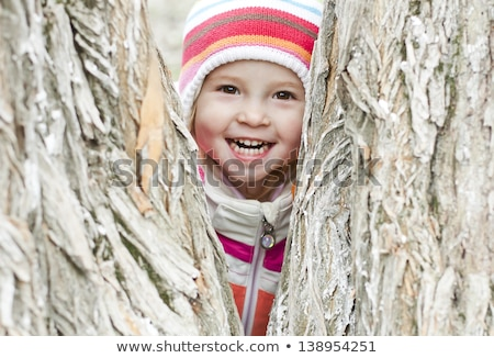 child laughts intensively and is happy Stock photo © meinzahn