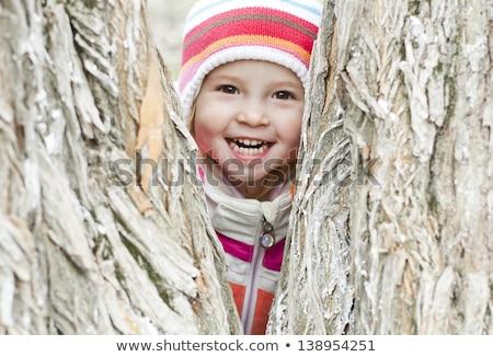 Dziecko szczęśliwy uśmiech tle hotel portret Zdjęcia stock © meinzahn