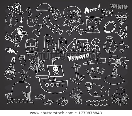 Pirate symbol stock photo © dvarg