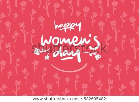 Женский день элемент Creative красочный вектора бумаги Сток-фото © bharat