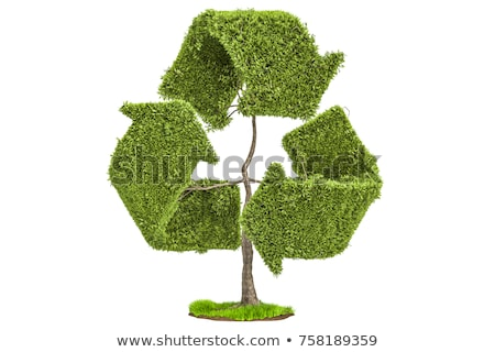 Tree Recycle Symbol Stock photo © Lightsource