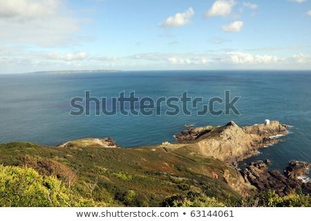 Stock fotó: Pont · kilátás · természet · tenger · ujj · díszlet