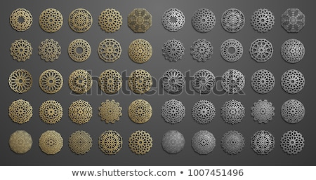 iszlám · téma · feketefehér · szín · épület · természet - stock fotó © morrmota