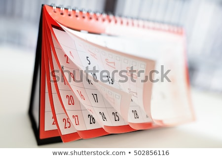 Calendar Page Stock photo © stevanovicigor