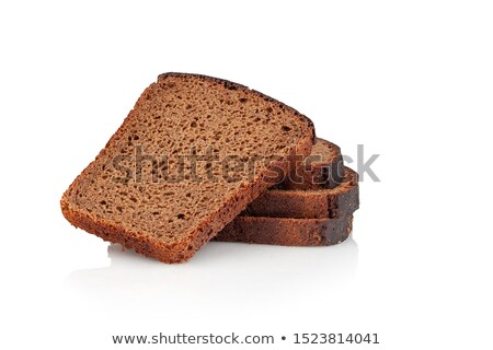 sliced loaf rye bread stock photo © oleksandro