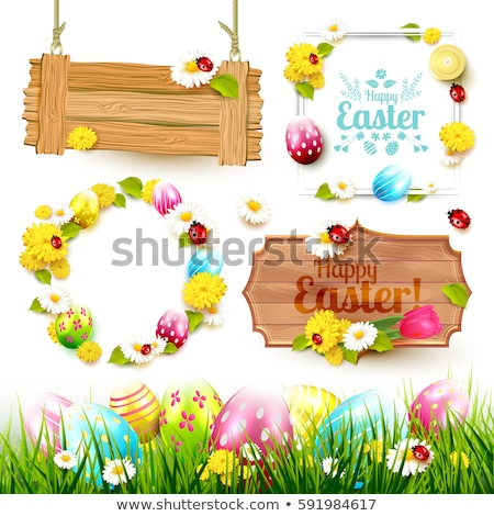 Easter Sign Stock photo © StephanieFrey