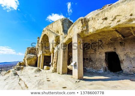 uplistsikhe ancient city georgia stock photo © joyr