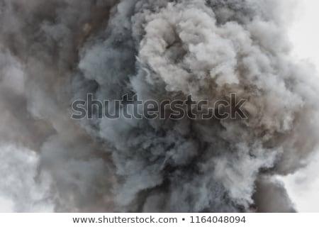 Stockfoto: Zwarte · bom · geïsoleerd · ontwerp · metaal · oorlog
