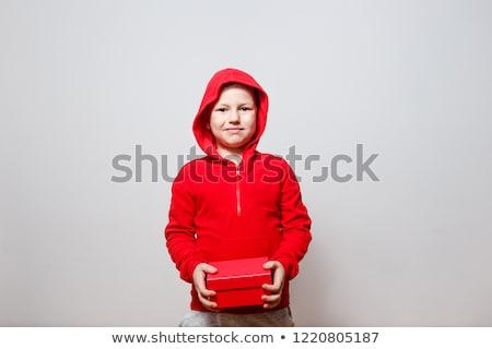 Red hood baby Stock photo © Blackdiamond