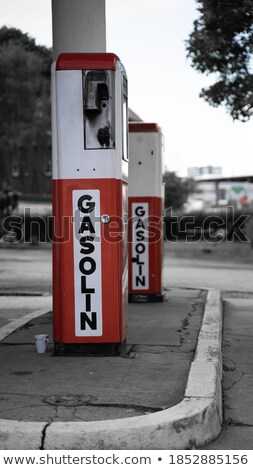 gasstation stock photo © hasenonkel