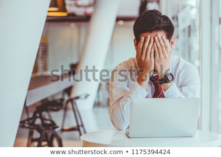 Mobbing and stress at work Stock photo © alphaspirit