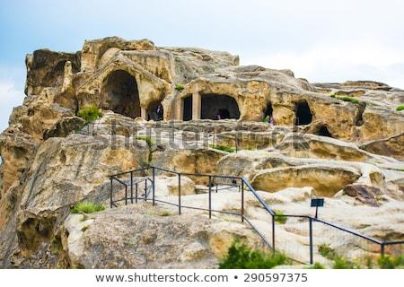 the antique city uplistsikhe georgia stock photo © master1305