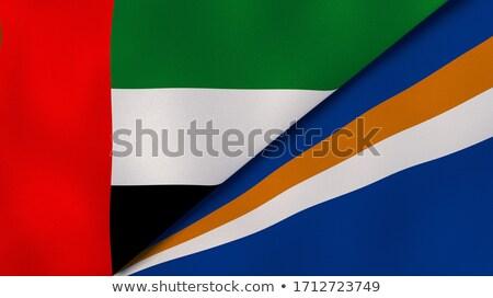 Verenigde Arabische Emiraten eilanden vlaggen puzzel geïsoleerd witte Stockfoto © Istanbul2009