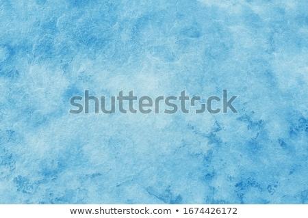 Albastru crăpa vopsit perete beton textură Imagine de stoc © FOTOYOU