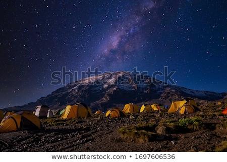 молочный способом небе звезды горные высокий Сток-фото © zurijeta