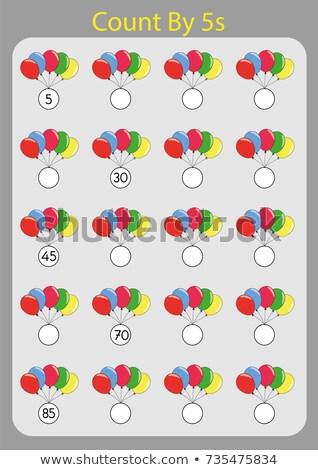 colorido · quebra-cabeça · brinquedo · de · madeira · branco · tabela · estoque - foto stock © fuzzbones0