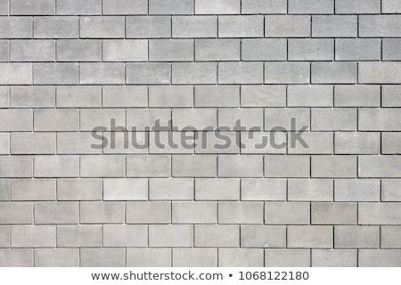 古い 汚い グレー そよ風 ブロック 壁 ストックフォト © latent