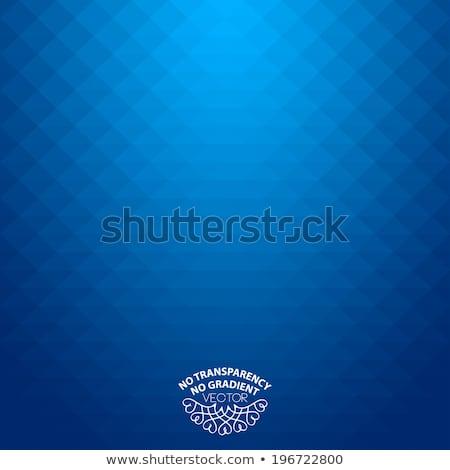 Minimalny tech geometryczny niebieski wektora układ Zdjęcia stock © saicle
