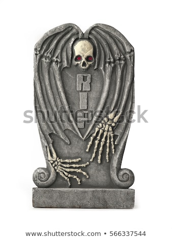death cartoon isolated on white background stock photo © doomko
