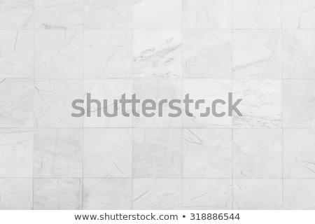 Azulejos piso negro azulejo estilo dibujo Foto stock © Bigalbaloo