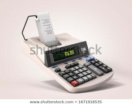 Monetization Calculator Stock photo © idesign