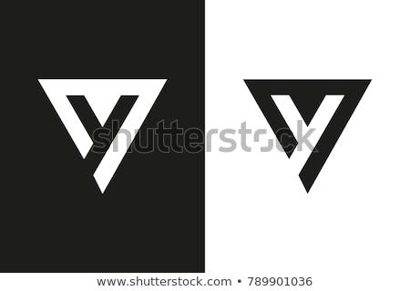 alfabe · parmak · yazım · amerikan · işaret · dili · kadın - stok fotoğraf © givaga