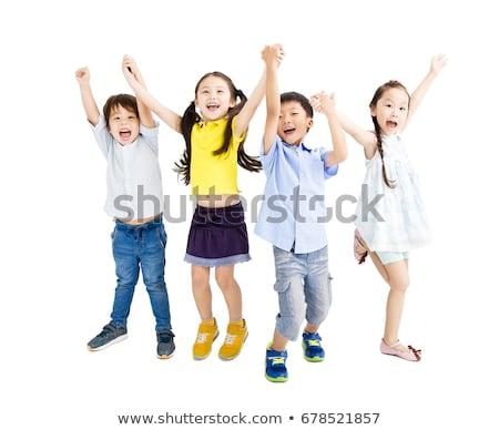 heureux · asian · enfant · studio · portrait · cute - photo stock © vtupinamba