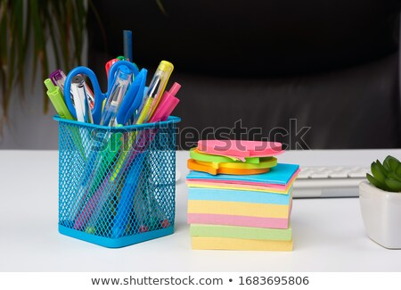 Lápis caneca empresário trabalhando Foto stock © wavebreak_media